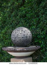 Stone Ball Garden Decoration Awesome Stone Ball Holes Garden Decoration Art Stock Photo Edit Now