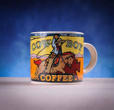 Once your coffee is done steeping, pour yourself and your campmates some tasty cowboy coffee, and enjoy not having to pick. Westwood Yesteryear Best Of The West Cowboy Coffee Cowboy Coffee Mugs Coffee Mugs