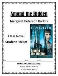 images about among the hidden on pinterest  common cores  novel student among the hidden no prep student packet