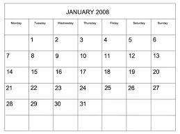 Blank Editable Calendar Editable 2008 Blank Calendar