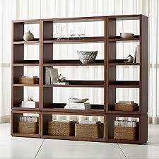 wooden bookcase furniture storage shelves shelving unit. Aspect Walnut 6-Piece Open Storage Unit Wooden Bookcase Furniture Storage Shelves Shelving Unit O
