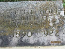 Effie Holt (1890-1922) - Find A Grave Memorial