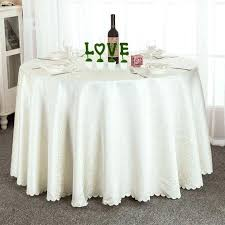 proud rose exquisite embroidery hollow out round table cloth