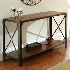 wood and wrought iron furniture. Iron And Wood Furniture Console Table Country Wrought  Desk Side T