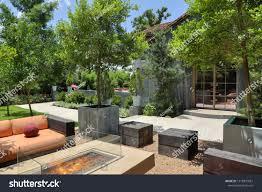Landscape Design San Antonio Texas Sanantonio Texasusa July 2018 Landscape Design Stock Photo
