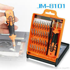 2019 jakemy 33 in 1 laptop driver set professional repair hand tool kit for mobile phone computer electronic model diy repair from kings0905