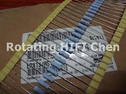 Super capacitor 50pcs Matsushita Resistor resistance <b>1W</b> 0.51R ...