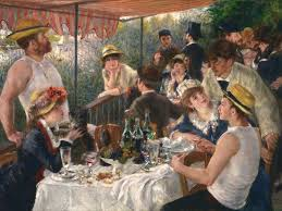 pierre auguste renoir s famed painting luncheon of the boating party is the focus of a new exhibit in washington d c pierre auguste renoir google