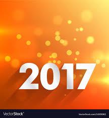 Graphic Design In 2017 2017 Happy New Year Wallpaper In Orange Background Graphic