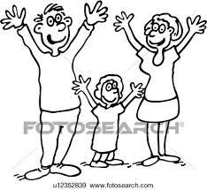 Cartoni Animati Bambino Bambini Babbo Famiglia Padre Capretto