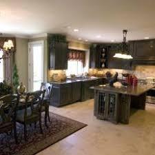 dark stained kitchen cabinets. Brilliant Dark Traditional Open Kitchen With Dark Stained Cabinets To S