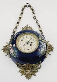 wall clock hanging france paris japy