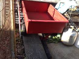lawn and garden trailer for