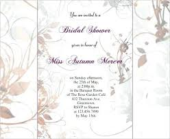 bridal shower invitations free templates printable