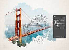 Photoshop Watercolor Filter How To Create A Watercolor Painting Effect In Photoshop