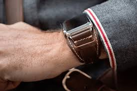 best apple watch bands pad quill lowry leather cuff