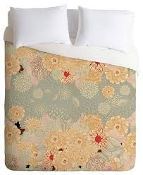 deny designs la creme duvet cover king duvet covers and duvet sets