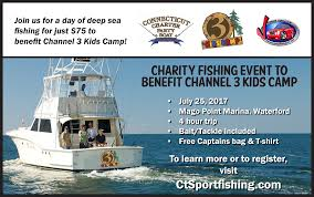 radio 104 1 is partnering with the channel 3 kids c and wfsb to help send kids to c win tickets to go fishing with fisch enter to win by filling out