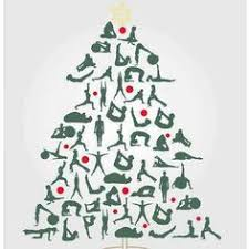 Image result for free yoga christmas images