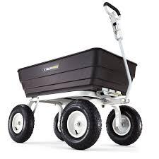 gorilla garden dump cart gor62 com