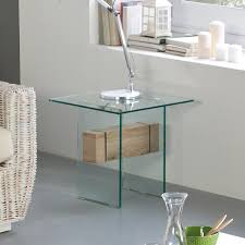 glass living room furniture. Stylish Glass Side Table With Oak Detail Living Room Furniture I