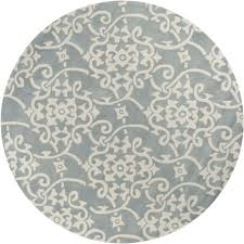 interior elegant small round area rugs 18 blue and brown red for indoor entry grey