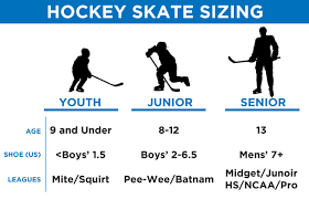 Nike Ice Skate Size Chart 23 Symbolic Easton Skates Size Chart