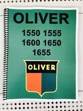 oliver tractor manual 1650 oliver tractor technical service shop repair manual