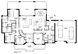 3 bedroom ranch house plans with basement new arizona ranch style house plans unique floor plans
