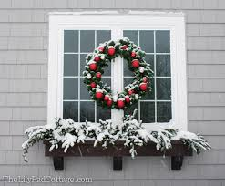 Christmas Window Box Decorations Outdoor Christmas Decor Adventures in chainsaws and Christmas 71
