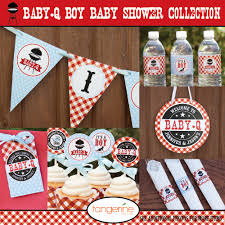 ... Innovative Ideas Bbq Baby Shower Decorations Well Suited BBQ Package  BabyQ By ...