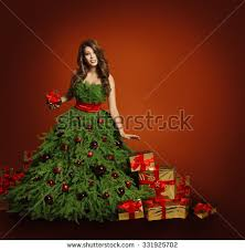 Kids Christmas Tree Fancy Dress Costume  Kids Christmas Costumes Girls Christmas Tree Dress