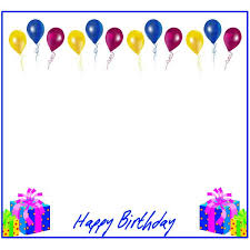 Party Borders For Invitations Birthday Border Gclipart Com