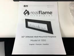 real flame 1330e bk dinatale wall hung electric fireplace black for