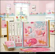 fish themed nursery bedding baby girl themed nursery baby girl character themes under the sea baby
