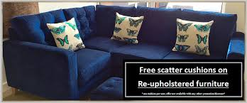 free ter cushions picture of a navy blue corner suite with erfly cushions
