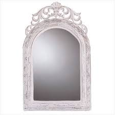 20 shabby chic wood arched top wall mirror b008aecslm