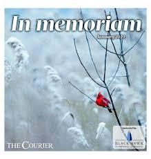 In memoriam - January 2020 by Waterloo-Cedar Falls Courier - issuu