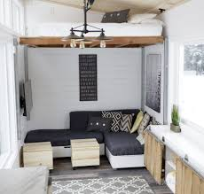 Open Concept Rustic Modern Tiny House Photo Tour and Sources | Ana ...