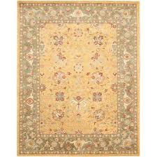 antiquity gold 8 ft x 11 ft area rug