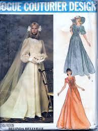 Vogue Bridal Patterns Amazing Design