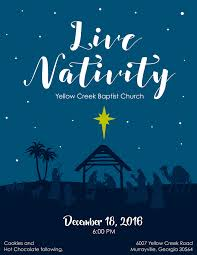 sight of canaan graphic design fliers christmas play 2016