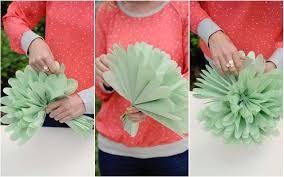 tissue paper flower centerpiece ideas diy tissue paper flowers project nursery