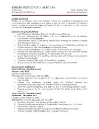 Cover Letter For Child Care Assistant Cover Letter For Child Care