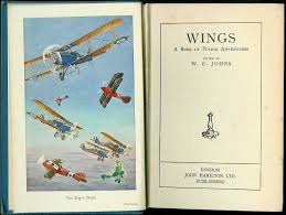 frontispiece from vine book wings a book of flying adventures john hamilton ltd