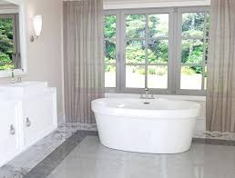 5 ft freestanding bathtub in white the home depot foot deep 5 ft bathtub