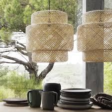 Sinnerlig Hanglamp Bamboe Decors Hanglamp Ikea En Eettafel