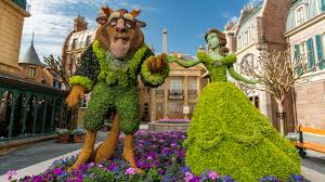 this week in disney parks photos epcot international flower garden festival returns