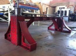 vintage industrial furniture tables design. Hankerson Crank Table.jpg Vintage Industrial Furniture Tables Design