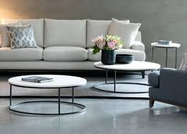 living side tables hoop coffee and side table living spaces round side table